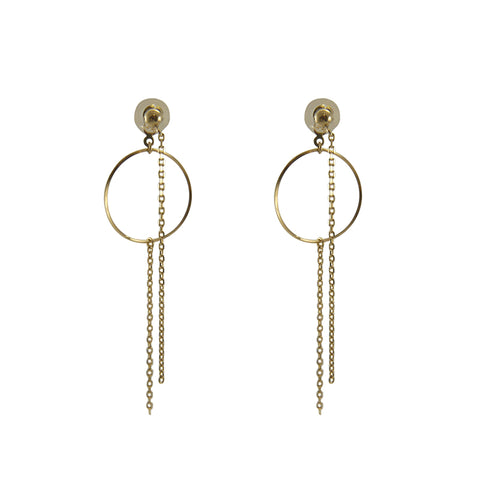 10K real Gold 0.94g Earrings