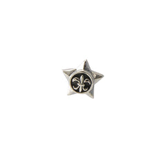 Star Sterling Silver Stud (one piece)