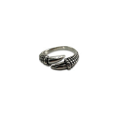 Eagle Claw (Thick Style) Sterling Silver Ring