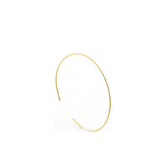 Thin Small Ball Pattern Wiry Gold Sterling Silver Bangle