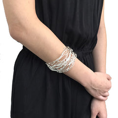 Big Nest Silver Bangle