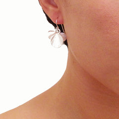 Orbicular Silver Earrings