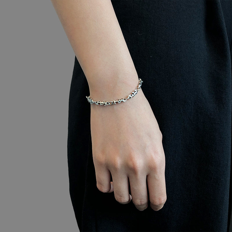 Fish Bone Sliver Bracelet