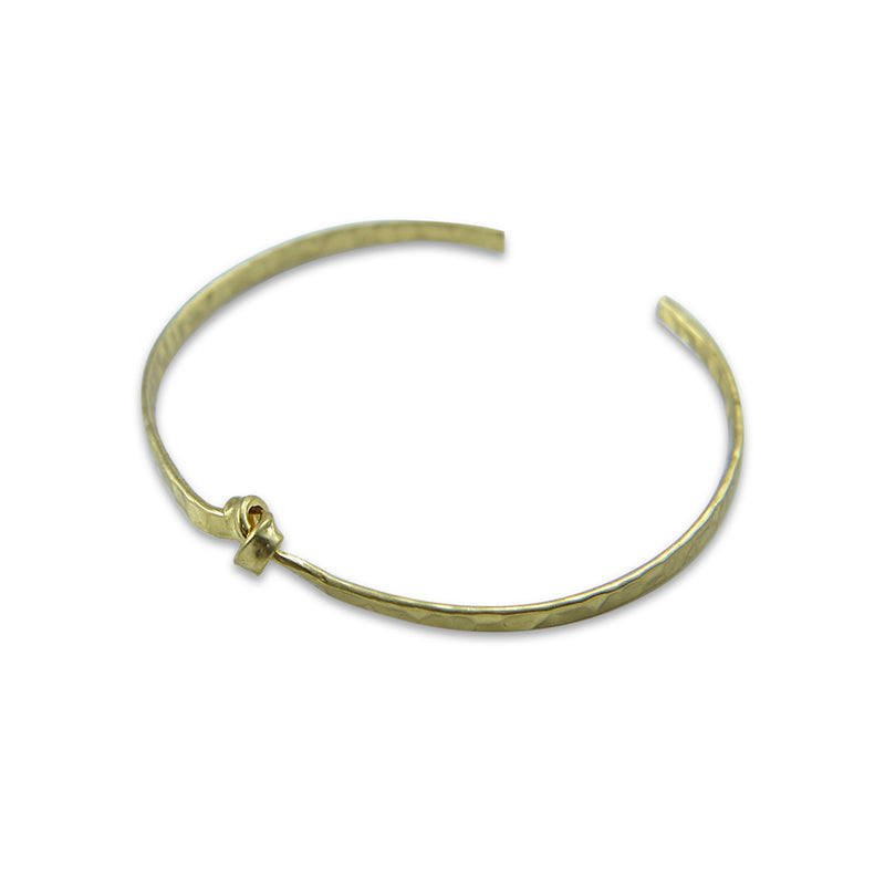 Ribbon Gold Bracelet