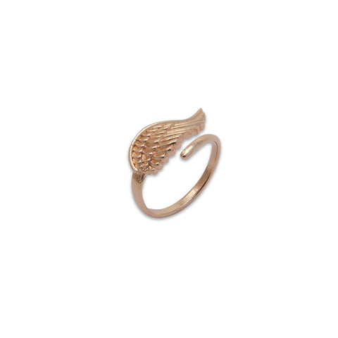 Uno Wing Rose Gold Ring