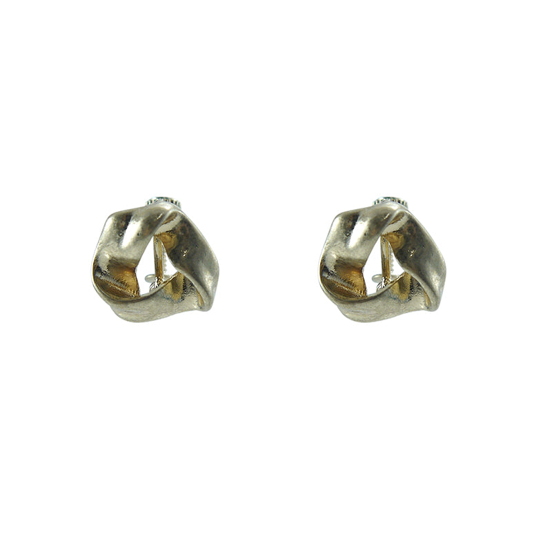 Shape Gold ear Clip Earrings