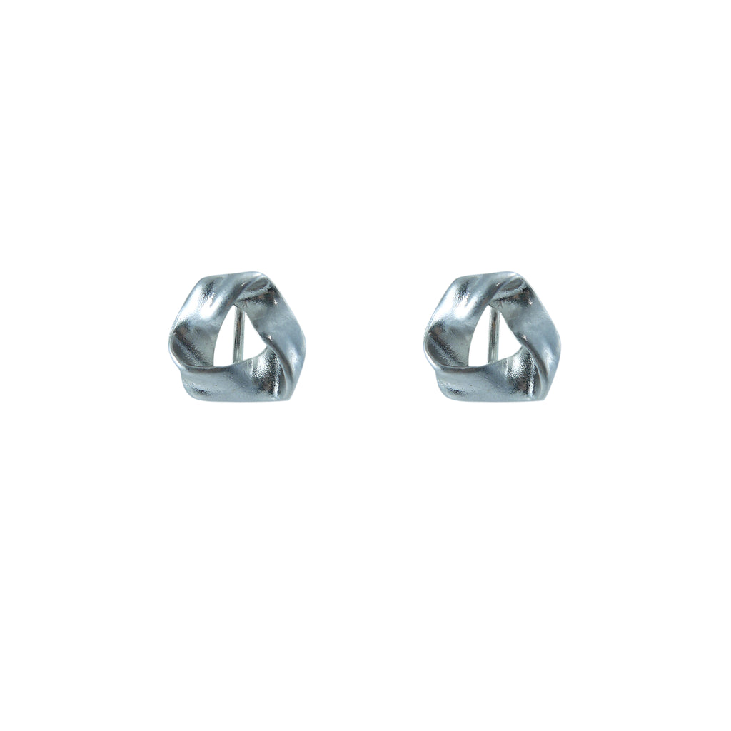 Shape Silver ear Clip Earrings