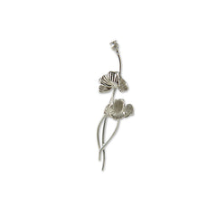 Branch flower Sterling Sliver Brooch