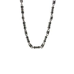Magic Column Sterling Silver Necklace (24 inches)