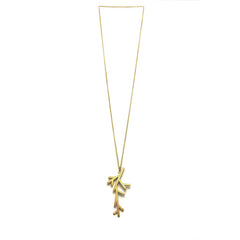Branch Long Gold Necklace