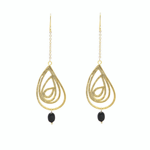 Teardrop Multi Loops Earrings