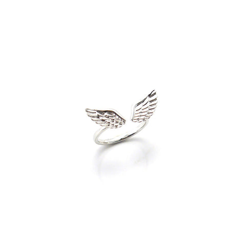 Eagle Wings Silver Ring