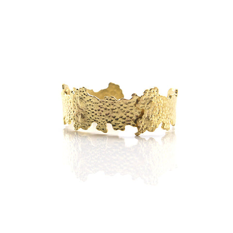 Lava Gold Bangle