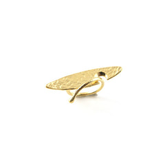 Lanceolate Gold Ring
