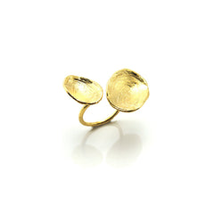 Orbicular Duo Gold Ring
