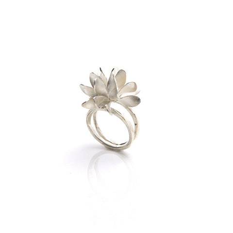 Bromeliad Sterling Silver Ring