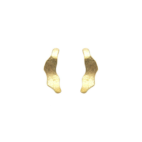 High Heel Gold Studs