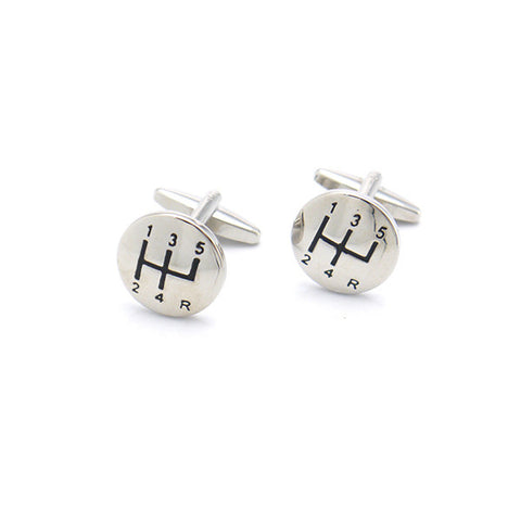 Car Gear Cufflinks