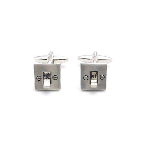 Switch On & Off Cufflinks
