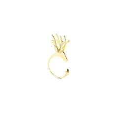 Deer Gold Ring