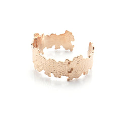 Lava Rose Gold Bangle
