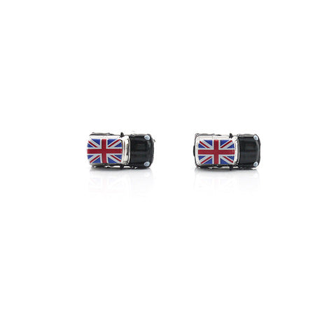 Mini Cooper Black Cufflinks