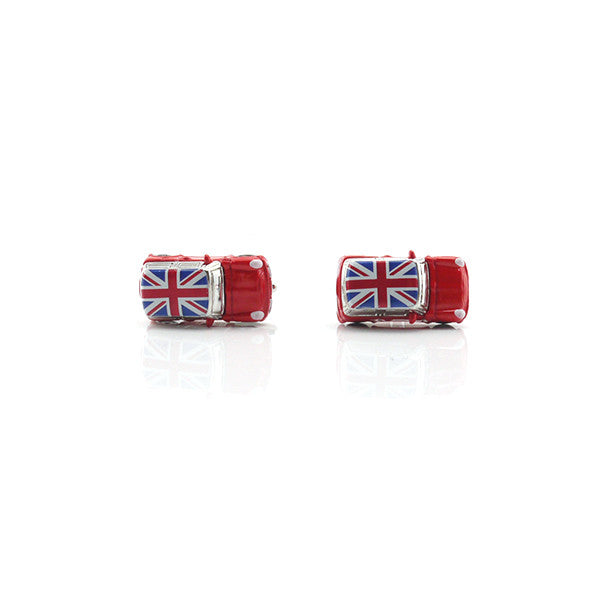 Mini Cooper Red Cufflinks