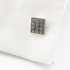 Buy Low Sell High Cufflinks