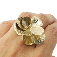 Orbicular Gold Ring