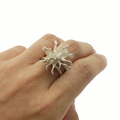 Bromeliad Sterling Silver RingBromeliad Sterling Silver Ring