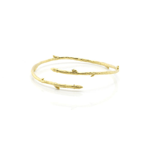 Branch Gold Bangle