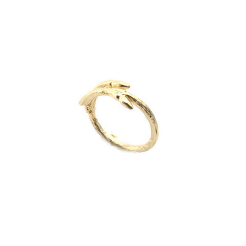 Branch Gold Ring