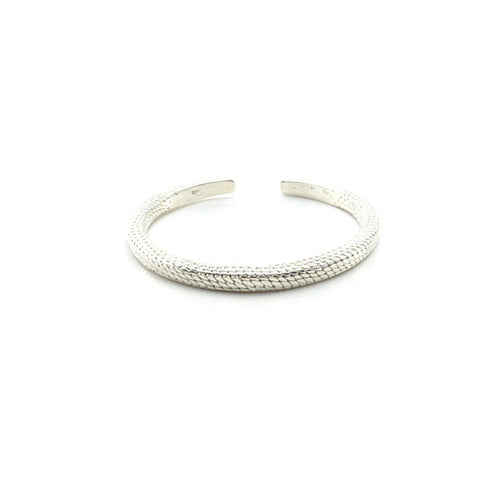 The Royal Sterling Silver Bangle