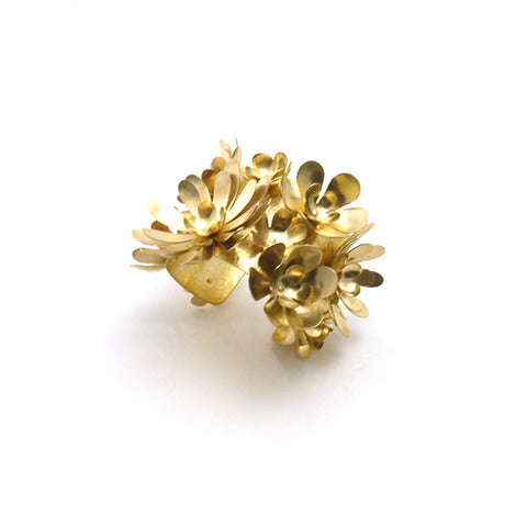 Flowery Flowery Gold Bangle