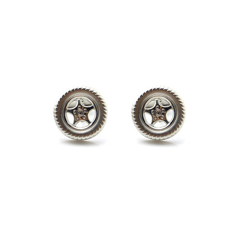 Car Tire Cufflinks