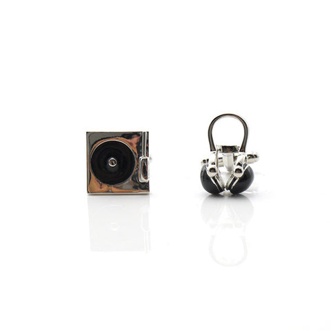 Headphone & Disc Player Cufflinks