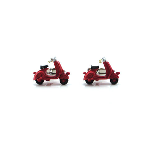 Scooter Red Cufflinks