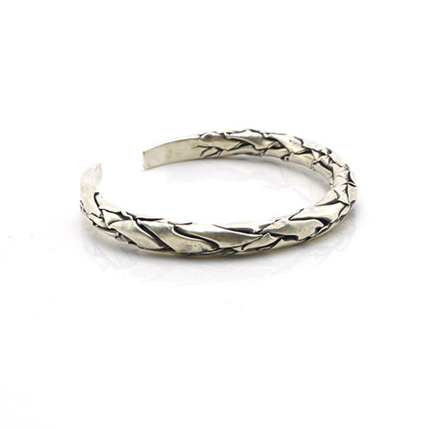 The Branch Sterling Silver Bangle