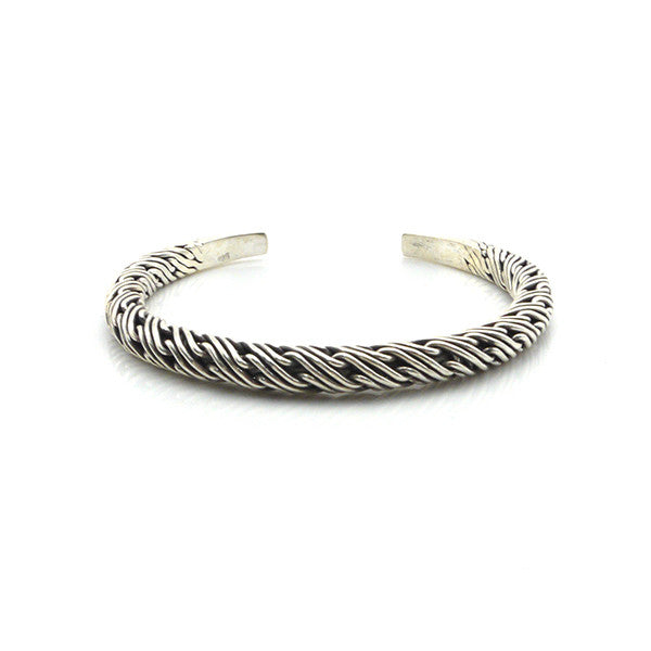 The Electric Pole Sterling Silver Bangle