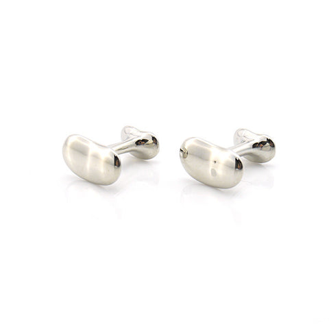 Basic Bean Shape Cufflinks