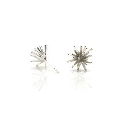 Sea Urchin Sterling Silver Studs