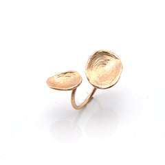 Orbicular Duo Rose Gold Ring