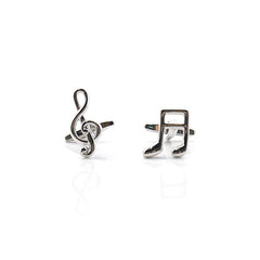 Music Note Symbol Cufflinks