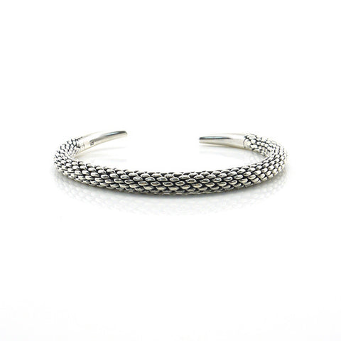 The Lizard Sterling Silver Bangle