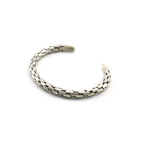 The Snake Sterling Silver Bangle