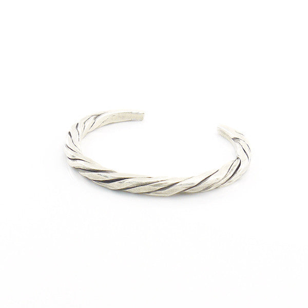 The Strip Sterling Silver Bangle
