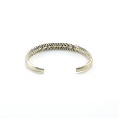 The Tire Sterling Silver Bangle