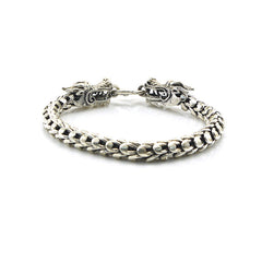 The Dragons Sterling Silver Bracelet