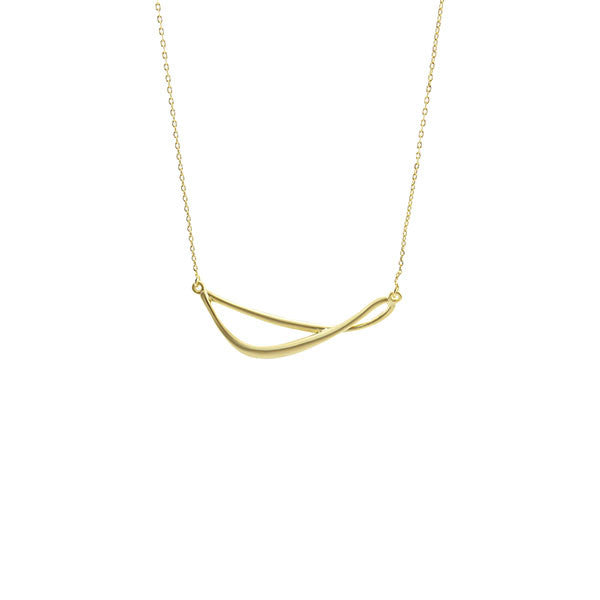 Infinity Short Gold Necklace