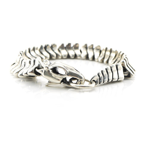 The Dinosaur Sterling Silver Bracelet